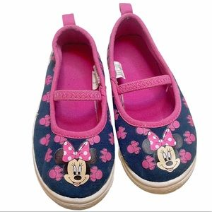 Disney Minnie Mouse Sandals Slip-On Size 8
